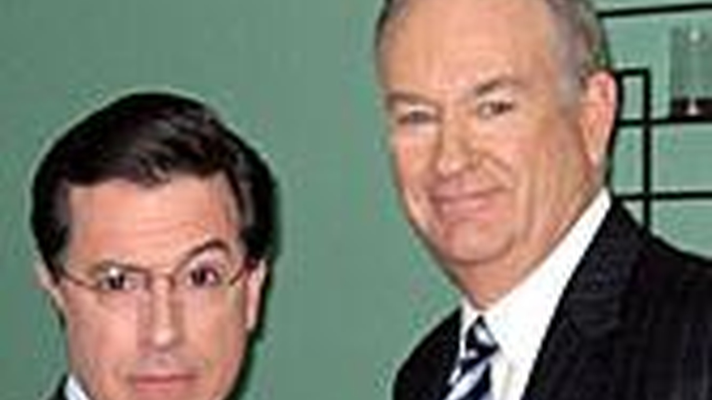 """...seeing double last Thursday, when Stephen Colbert paid a visit to Fox News Channel's """"O'Reilly Factor,"""" then welcomed Bill O'Reilly to his Comedy Central show, """"The Colbert Report""""..."""