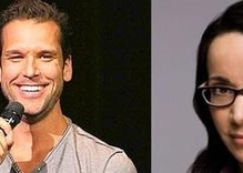 Dane Cook and Janeane Garofalo