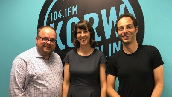 L-R: Jan Techau, Maisie Hitchcock, Jon Worth.