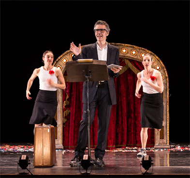 Three Acts, Two Dancers, One Radio Host
