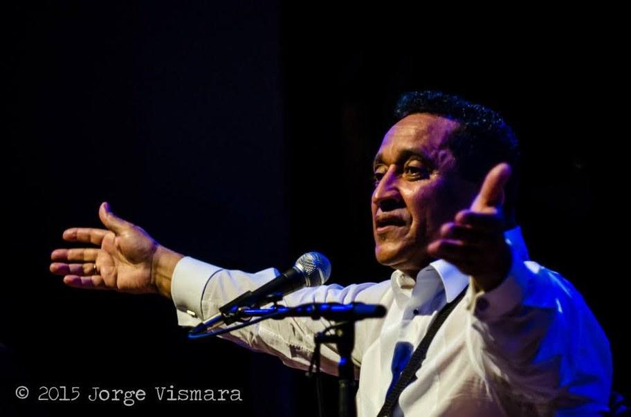 Waldemar Bastos performing in 2015. Photo courtesy of and © Jorge Vismara