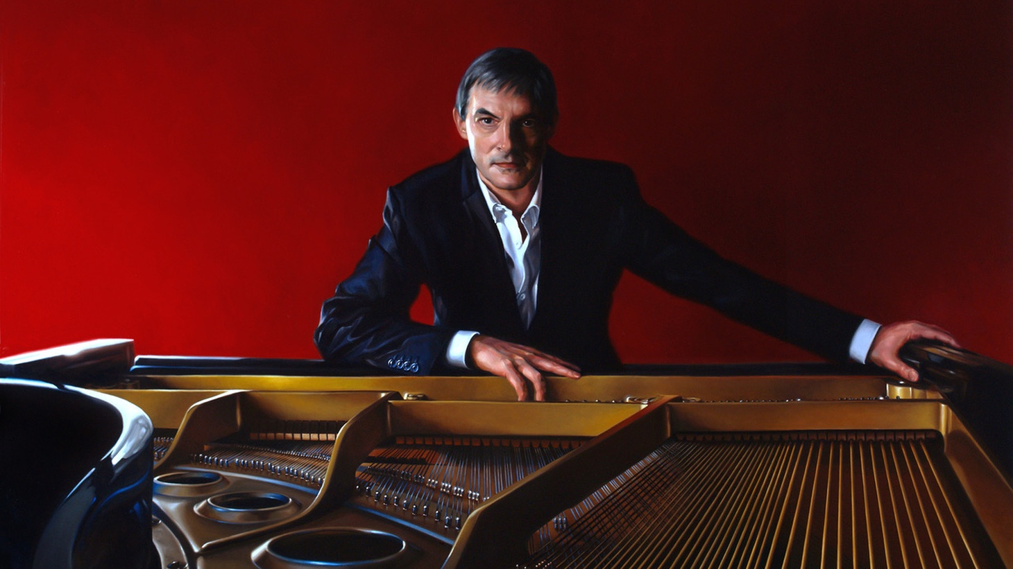 Jazz pianist Christian Jacob