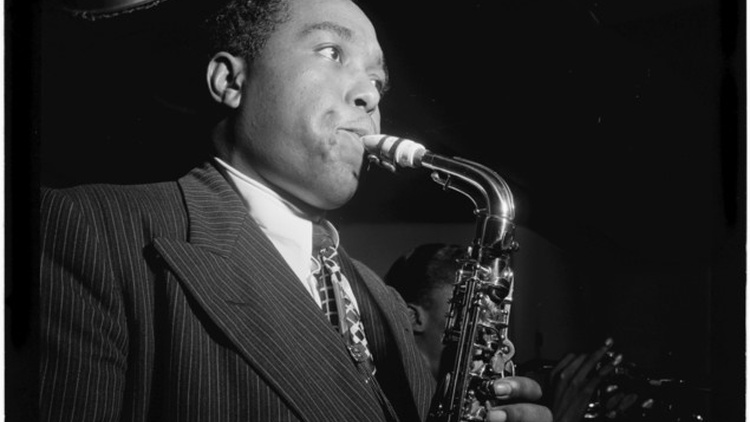 With his development of   bebop  , Charlie Parker had conceived a whole new style of music, a system of composition and improvisation that became the bible of modern jazz.