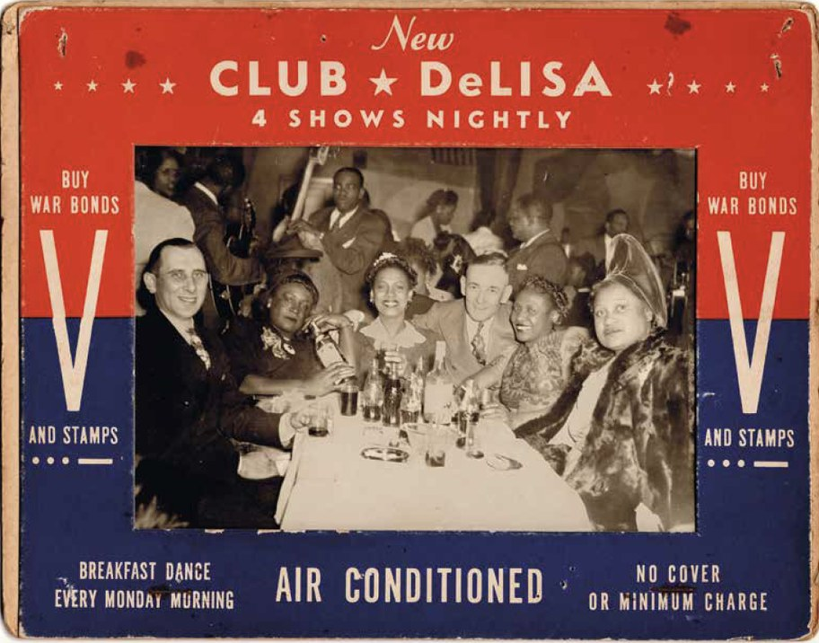 Club DeLisa in the mid-1940s