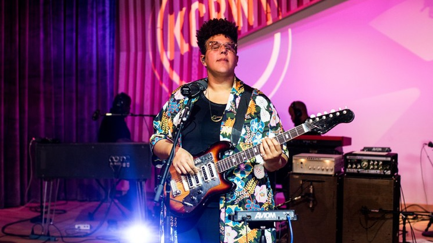 Brittany Howard performs at KCRW in October 2019.