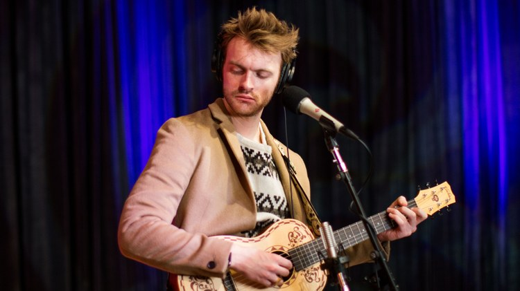 Singer, songwriter and record producer Finneas stopped by KCRW for a conversation and live performance behind his debut EP   Blood Harmony.