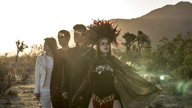 """Le Butcherettes premiere the video for melodic new track""""in/THE END"""""""