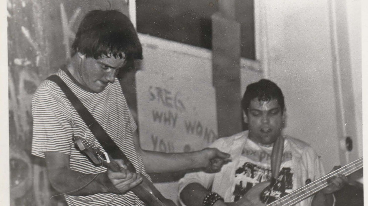 Rob Rosenthal performing with the Freeze