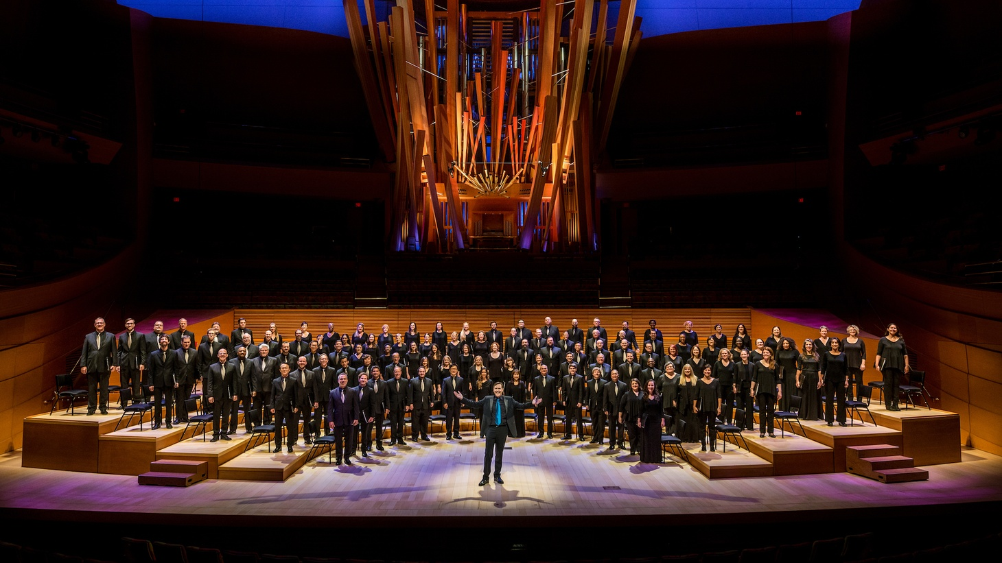 "The Los Angeles Master Chorale will join Gustavo Dudamel and the LA Phil in the first-ever performance of Mahler's monumental ""Symphony of a Thousand"" at Disney Hall"