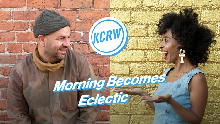 KCRW's music discovery show Morning Becomes Eclectic announces two hosts: Novena Carmel and Anthony Valadez.