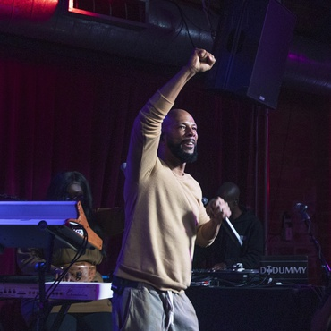 Aaron Byrd serves up highlights from Common's MBE session, the return of hip-hop vets Little Brother, andMaria Usbeck's new solo project.
