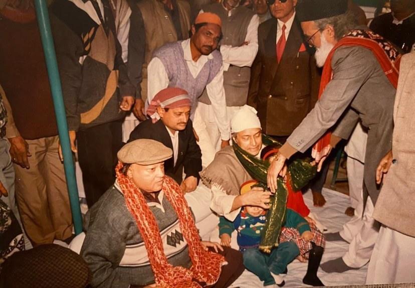 Nusrat Fateh Ai Khan and Amjad Ai Khan