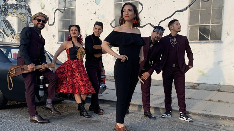 Pan Caliente premieres a new track from Las Cafeteras, ahead of their two-night run at the Hollywood Bowl opening for The Gypsy Kings.