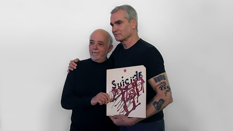 Henry Rollins was joined in studio by legendary artist and producer Craig Leon. Leon's responsible for the development of artists like The Ramones, Suicide, Talking Heads, and Blondie.