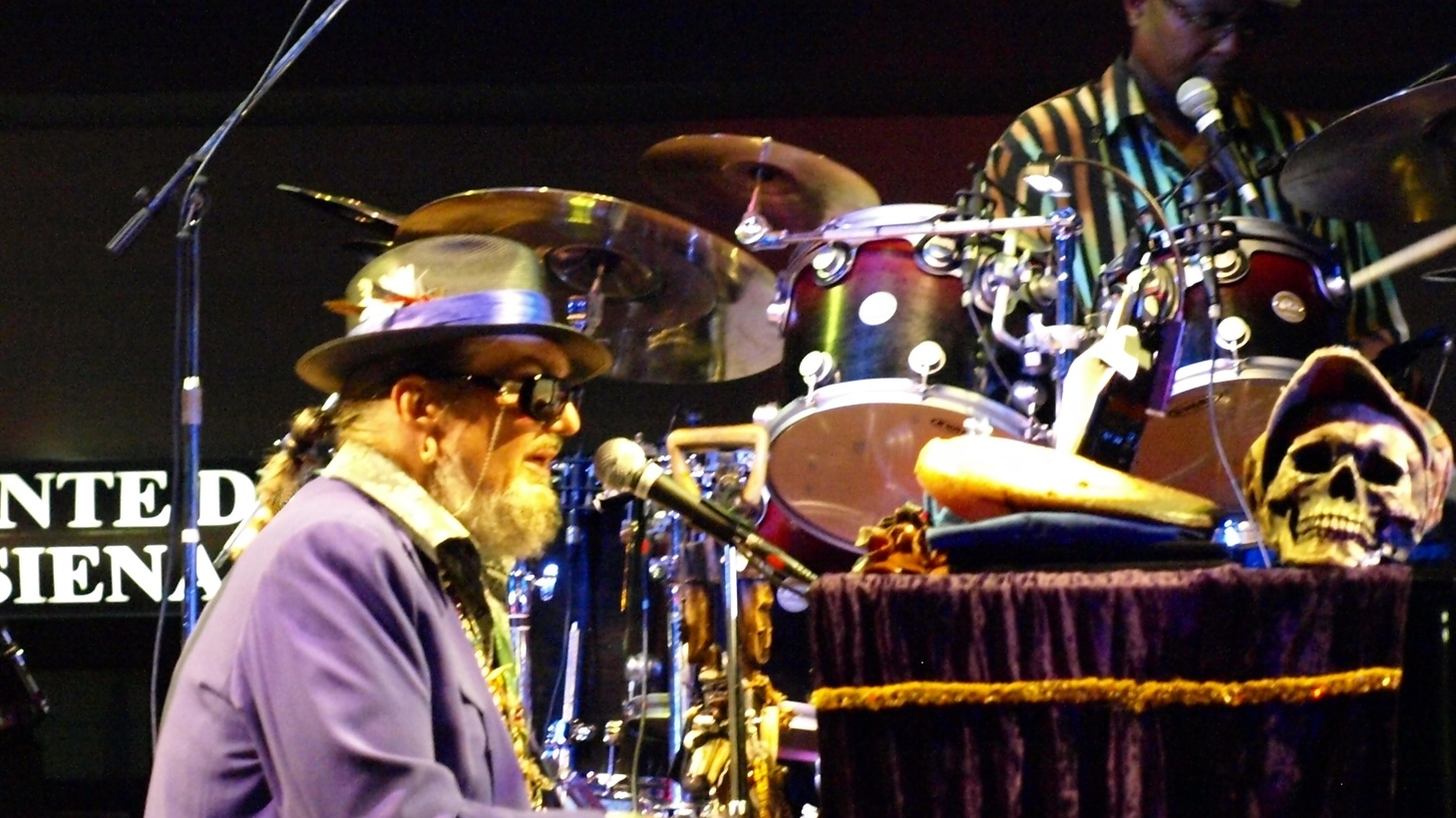 Dr. John at Liri Blues, 2010