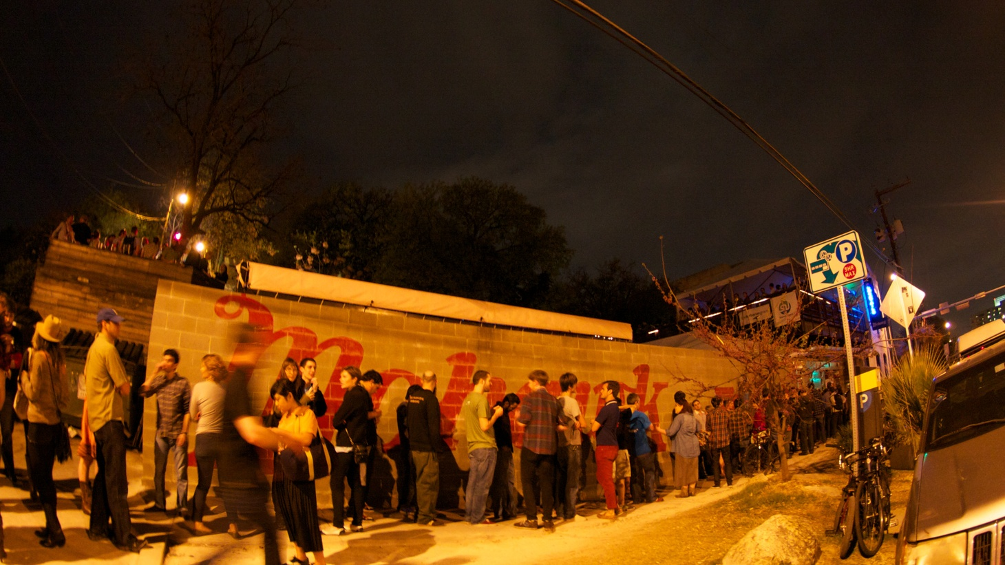"""Recovery is still """"a very daunting idea and question,"""" says James Moody, owner of the Austin venue the Mohawk. The space is normally a major hub for SXSW."""