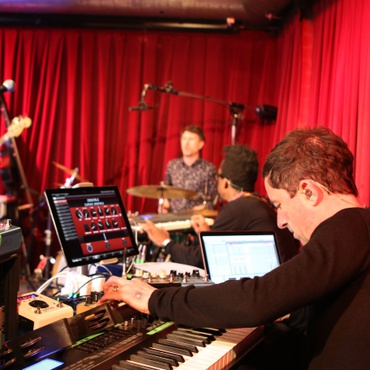 After a 12-year hiatus, several trans-continental moves, and various literally cinematic projects, the founders of The Cinematic Orchestra performed new music live for KCRW.