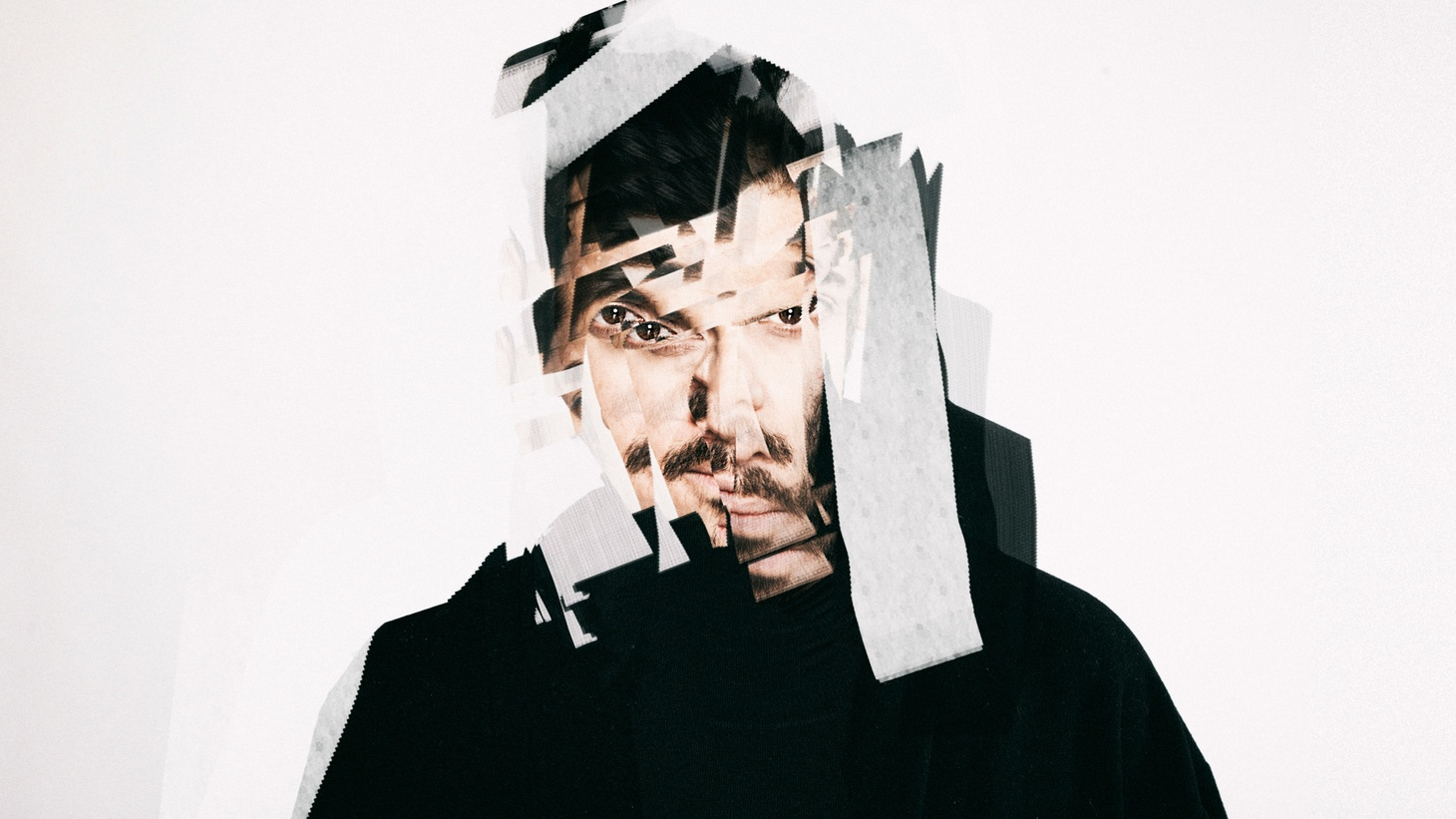 """With I AKA I, Koosha has taken his musical experiments a step further. Fascinated for many years by his own synaesthesia (the ability to 'see' sound), Koosha has tried to systematise this ability by treating sound """"like a physical matter which can be broken down, liquified, rescaled or spatially positioned."""""""