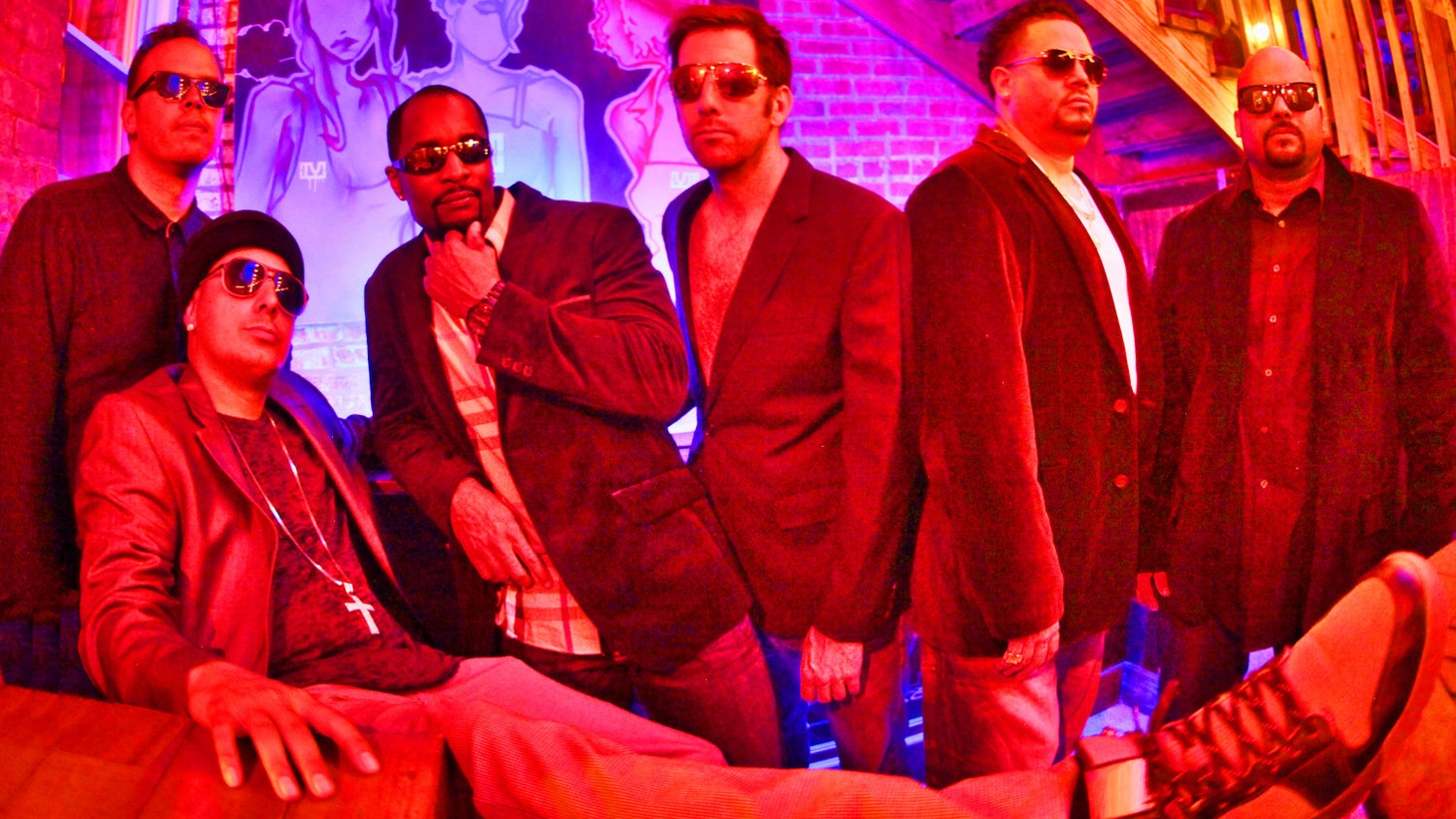 DC-based Latin-flavored party band Empresarios return with another dose of dance-floor ready world-beat jams on their new album, The Vibes. As in the past, this seven-piece musical machine pumps out track after track of an organic mix of reggae and salsa, set to a dubby beat and some slick Spanish rhymin'.