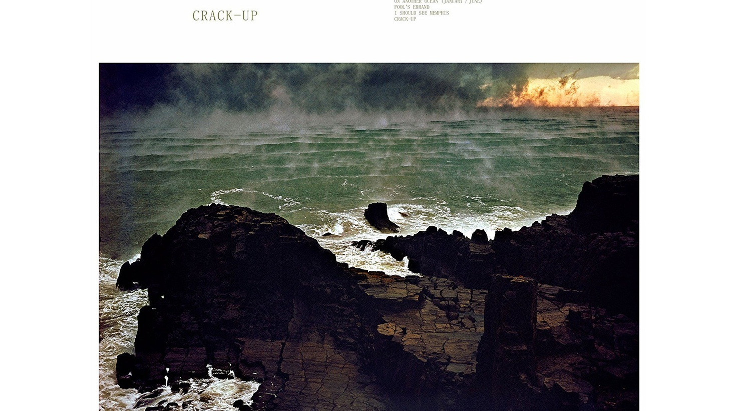 """Fleet Foxes, """"Crack-Up"""" – available on June 16, 2017."""