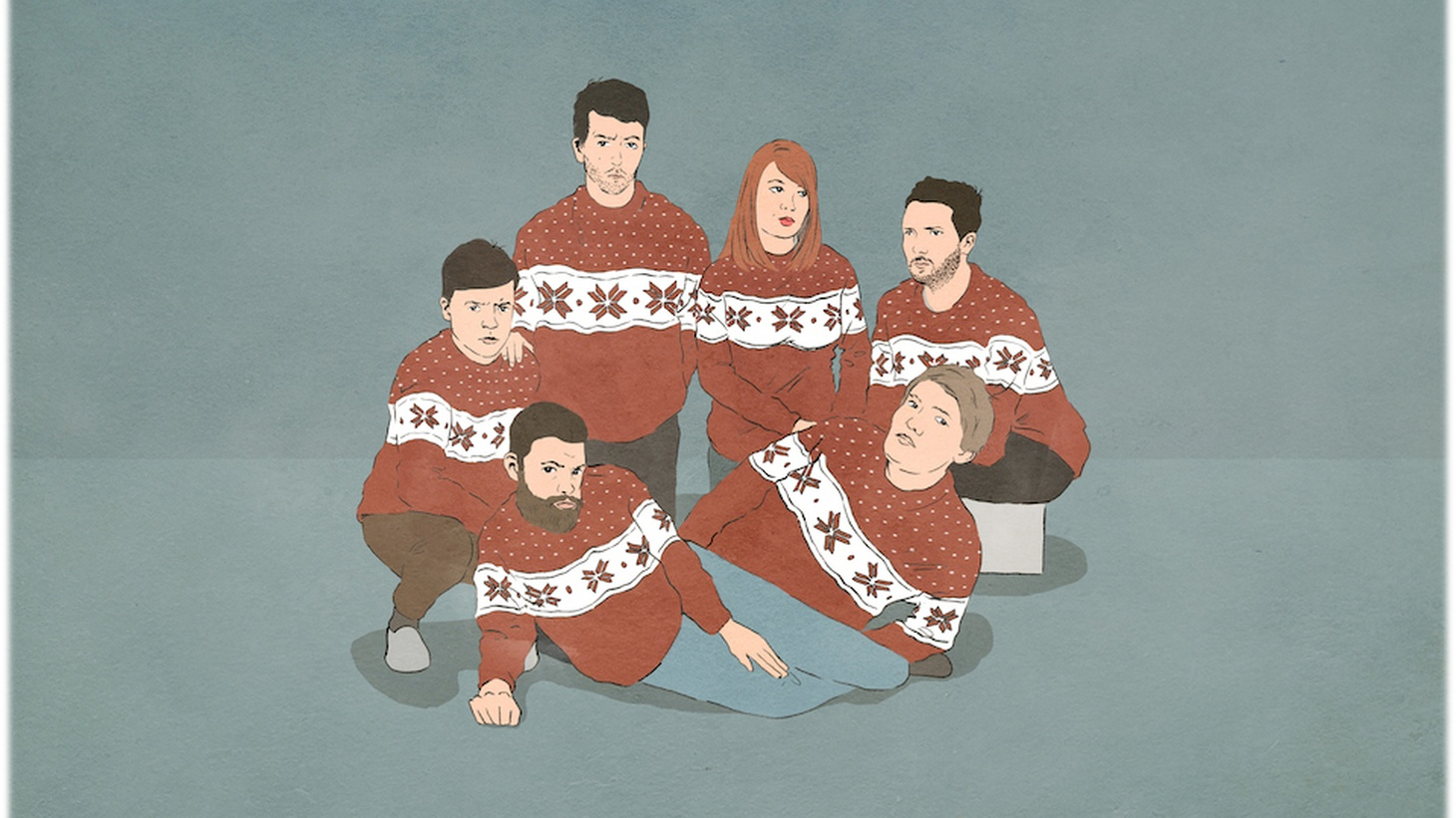As 2014 slowly but surely becomes a thing of the past, we offer one last music stream for the year, and what better present than a new Xmas treat from Welsh indie-rock sextet Los Campesinos!