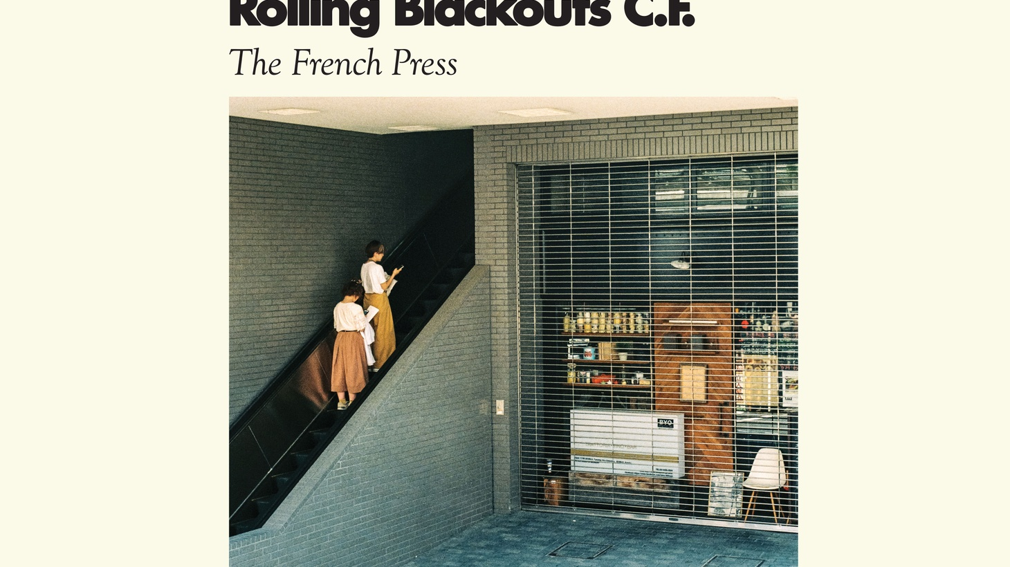 Rolling Blackouts Coastal Fever: The French Press EP. Available March 10th on Sub Pop.