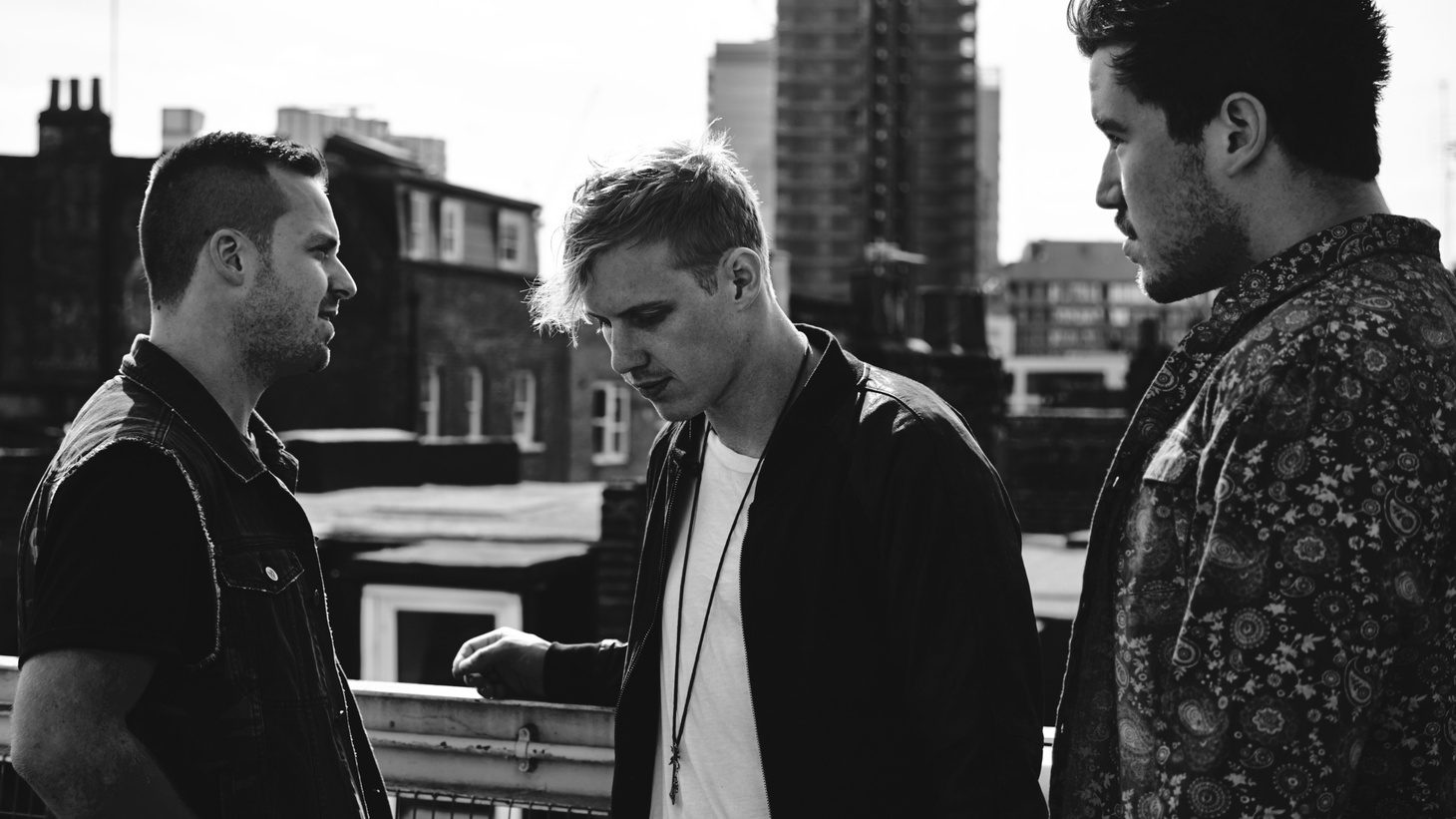 Using layered synths, drums and warm vocals, Jon, James and Tyrone have built a soundscape and aesthetic that is instantly familiar, yet distinctly their own. Written between Sydney and Berlin and completed in hotels in Montreal and New York, Bloom is written, recorded and produced by RÜFÜS DU SOL.