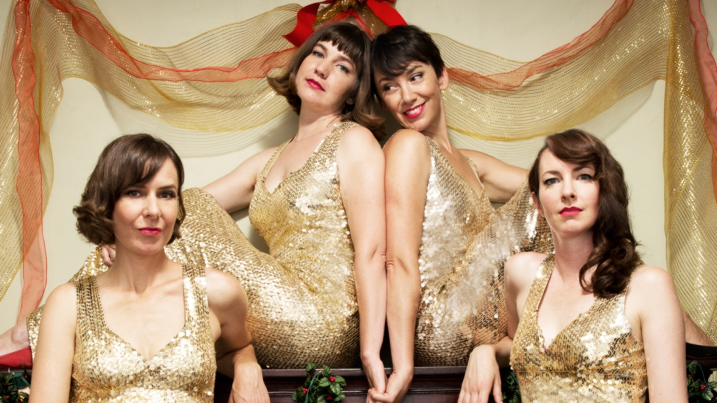 The holidays come early here at KCRW with four of our favorite female voices teaming up yet again for an album of clever seasonal favorites.