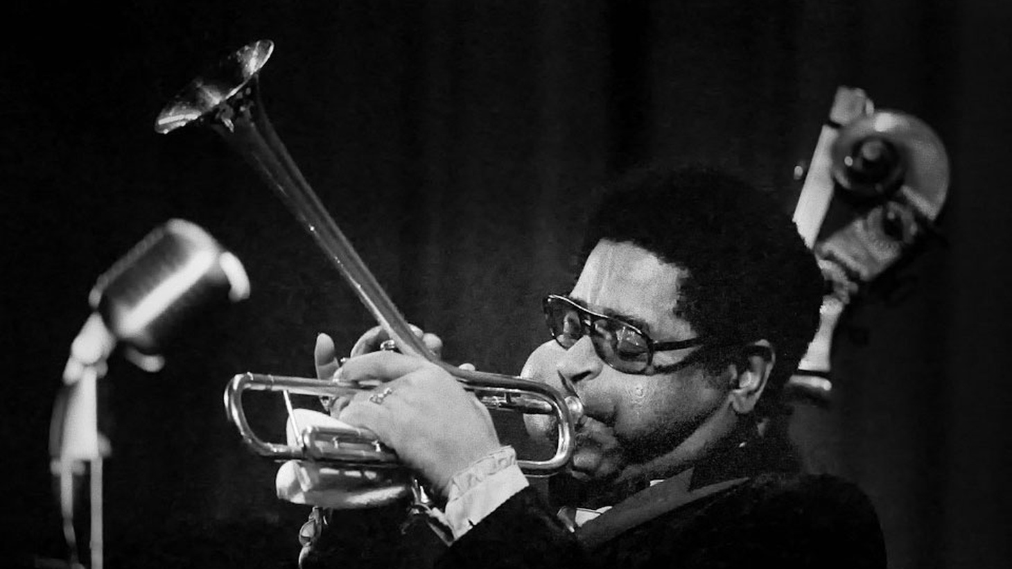 """October 21st marks the 100th anniversary of the birth of John Birks (""""Dizzy"""") Gillespie, an innovator of giant proportion who, along with Charlie Parker and Thelonious Monk, led a musical revolution called bebop that still reverberates. We'll celebrate his centennial this weekend (10/21) and next (10/28) on Strictly Jazz, with the first show concentrating, but not limited to, his formative years."""