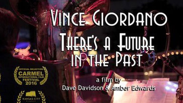 """Vince Giordano the subject of a new documentary, """"There's a Future in the Past,"""" sits in for an interview with Bo Leibowitz."""