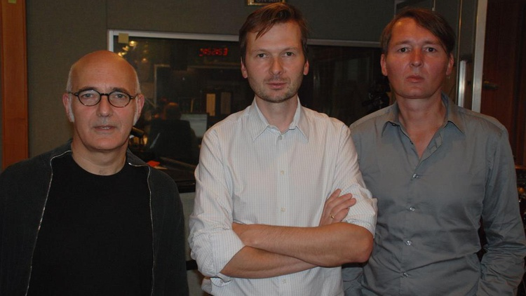 Whitetree is the name of the unique colloboration between acclaimed pianist and classical composer Ludovico Einaudi and electronic duo Robert and Ronald Lippok.They join Chris Douridas for a live set and interview on Saturday, June 6 at 1pm PST.