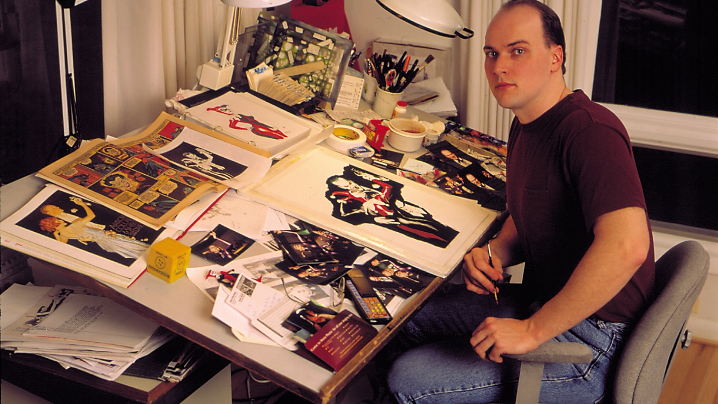 Comic book artist Alex Ross recently took on the Beatles, transforming some of their famous imagery into his painted, photorealist style. The Fab Four made his Guest DJ set song list, as did David Bowie, Queen and The Monkees. Alex also tells us the role of music in his creative process.