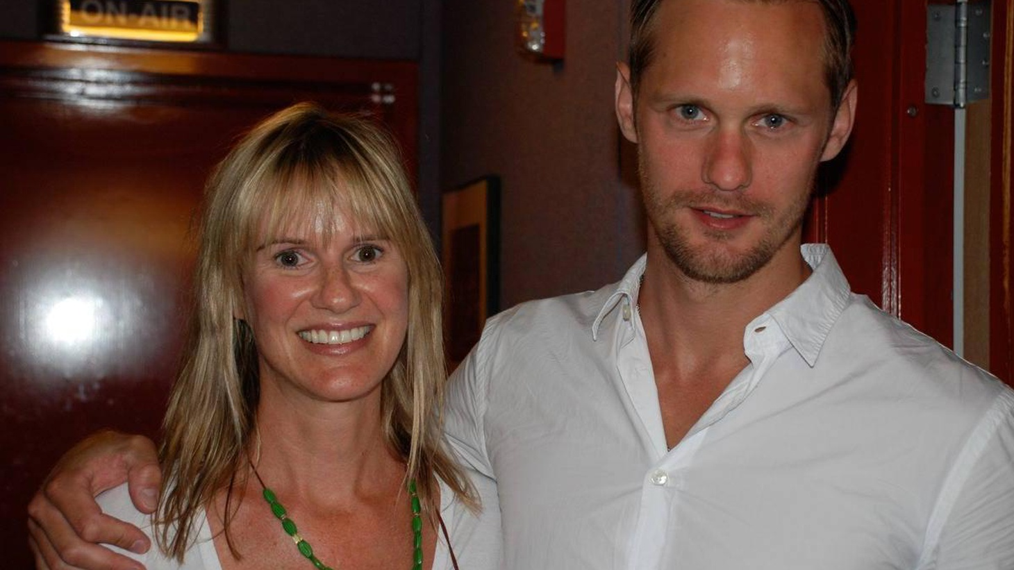 Swedish actor Alexander Skarsgard plays the powerful vampire Eric on HBO's series True Blood. His Guest DJ set was emotional and revealing as he chose to dedicate each of his five songs to people that play an important part in his life -- including his father, actor Stellan Skarsgard, a lost love and an old friend. True Blood's Season 2 finale airs September 13.