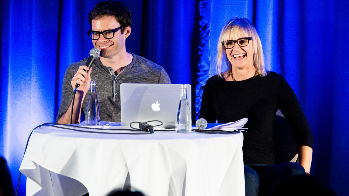 Bill Hader was a standout during his eight seasons on Saturday Night Live and starred in Amy Schumer's breakout comedy Trainwreck. We catch up with him for a live taping of the Guest DJ Project at the LA Podcast Fest.