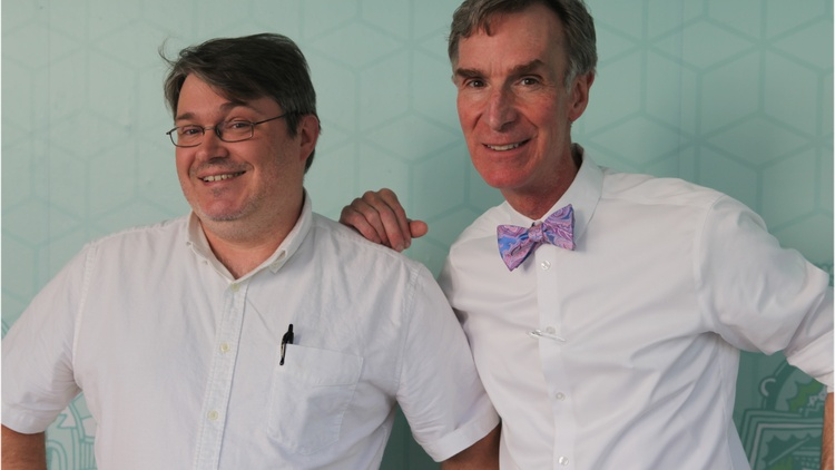 Bill Nye the Science Guy also happens to be a big fan of music, from Frank Sinatra to Fred Astaire. The TV host and longtime educator tells us how music impacts us – scientifically speaking – and shares his song choices with a great sense of humor. He recently released a book about evolution called Undeniable.