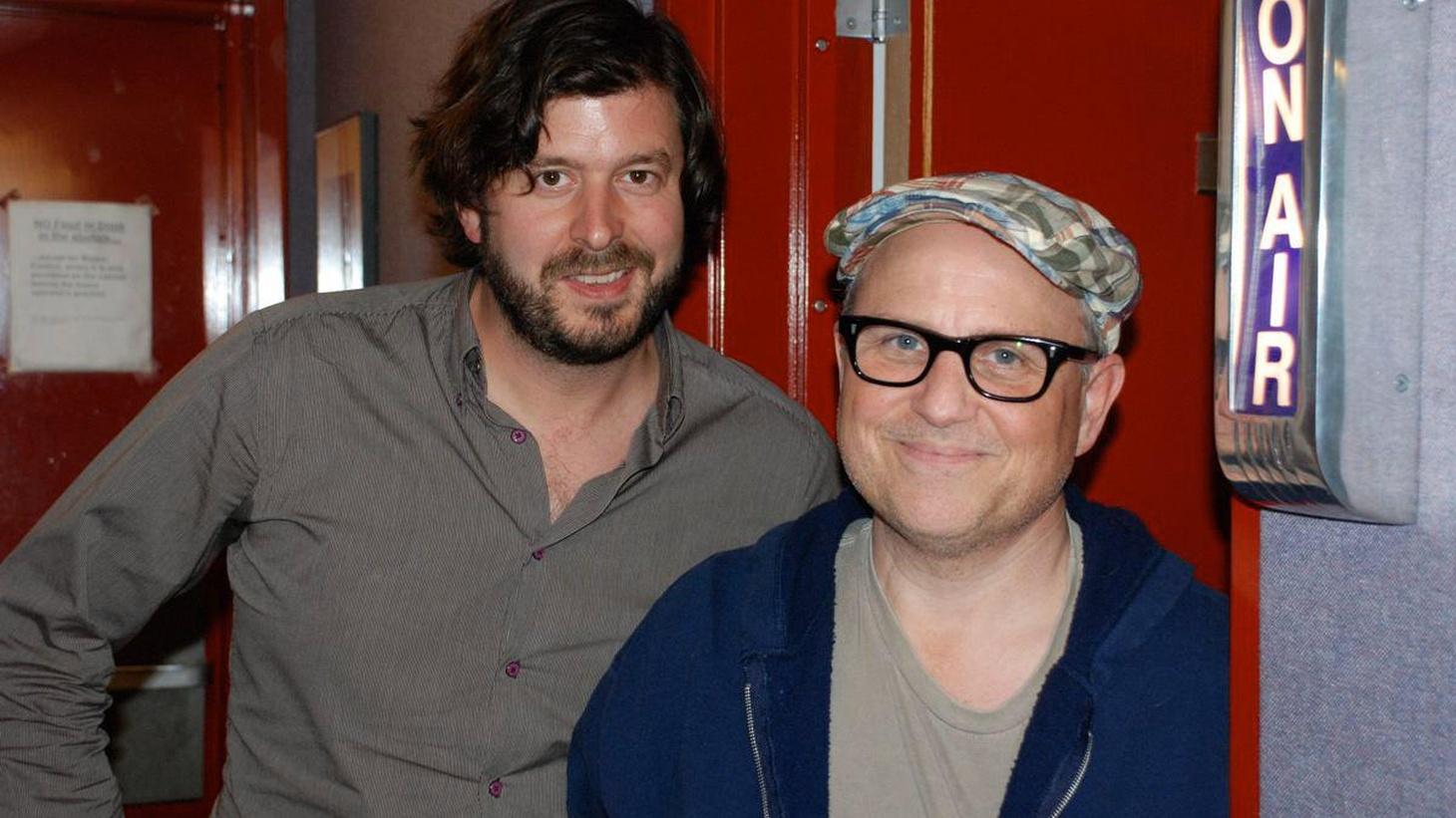 Bobcat Goldthwait wanted to clear up one thing before introducing some of his favorite songs – contrary to what you might have heard, he is not dead...