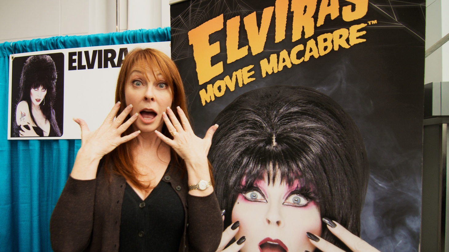 Cassandra Peterson is best known for her on-screen horror hostess persona of Elvira, Mistress of the Dark, but she has incredible music stories to share. She tells DJ Garth Trinidad about going on a date with Elvis and a meet up with Jimi Hendrix.