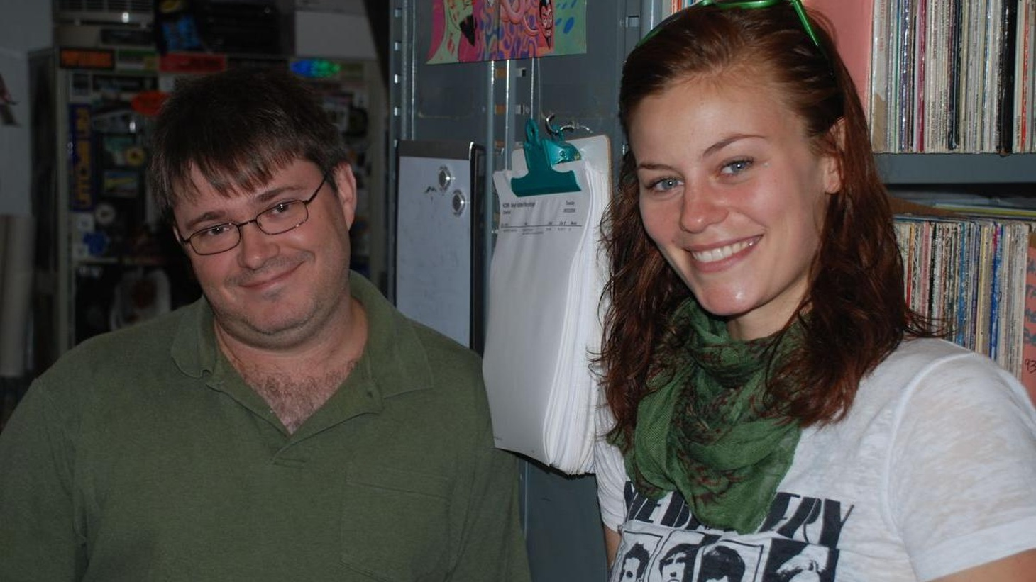 """Actress Cassidy Freeman plays a villain on the TV series """"Smallville,"""" but her guest DJ set is dedicated to songs about family and friendship, from a body rockin' electro track to a gentle acoustic lullaby about love and desire.  Cassidy's character Tess Mercer is the manipulative ruler of the LuthorCorp, in the CW hit drama and will be featured in a special, 2-hour extended episode written by DC Comics favorite Geoff Johns later this month. She is also a former KCRW volunteer!"""