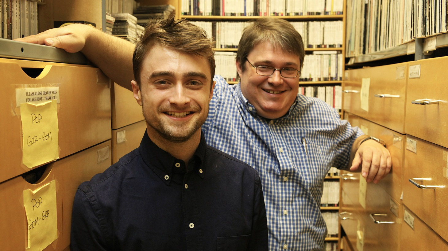 Actor Daniel Radcliffe starred in one of the most successful film franchises of all time but when it comes to music, the Harry Potter star likes a bit of anarchy.