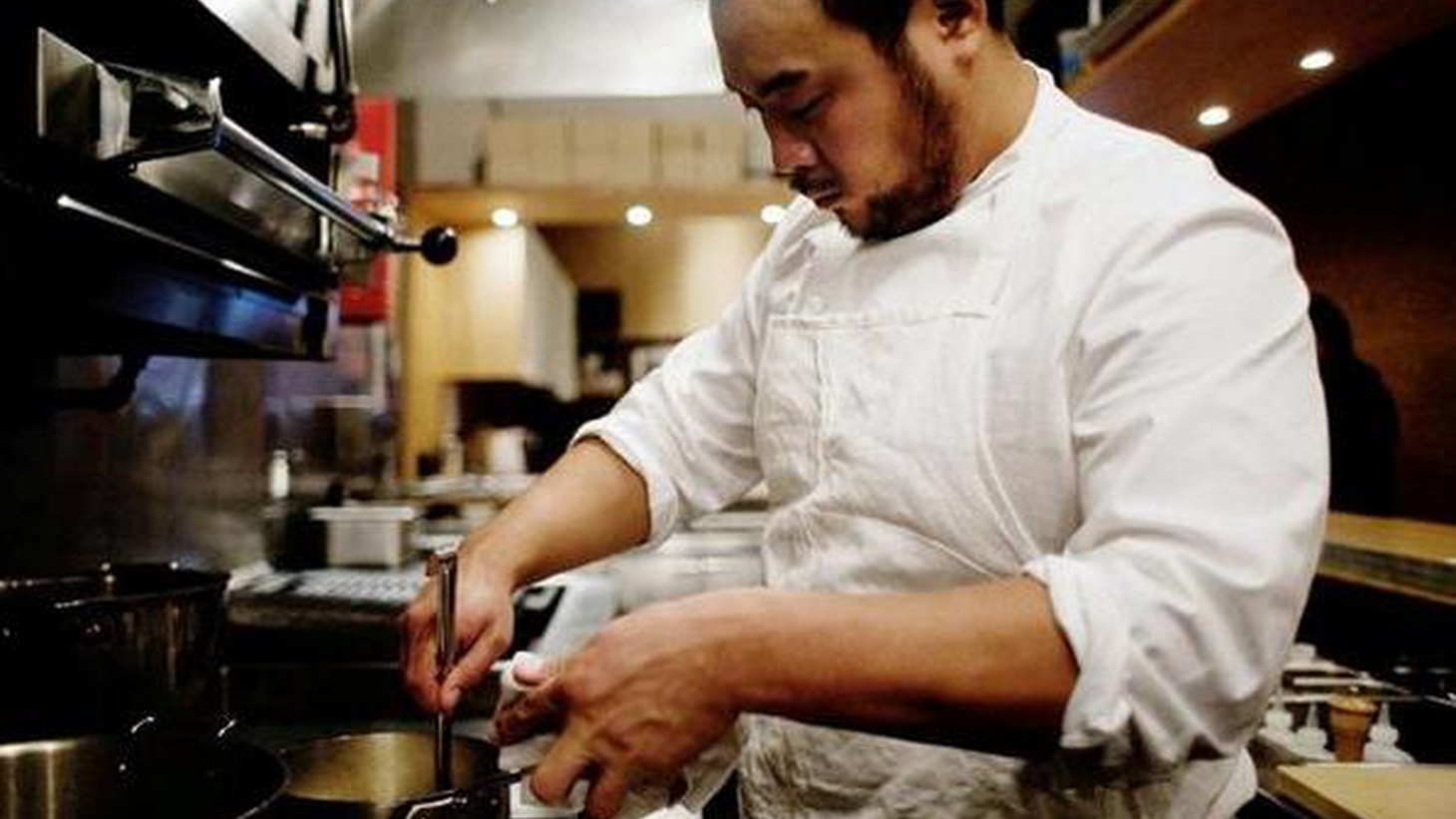 Chef David Chang is behind the acclaimed Momofuku group in New York. In his Guest DJ set, he reveals that he almost picked up a guitar instead of following his culinary dreams.