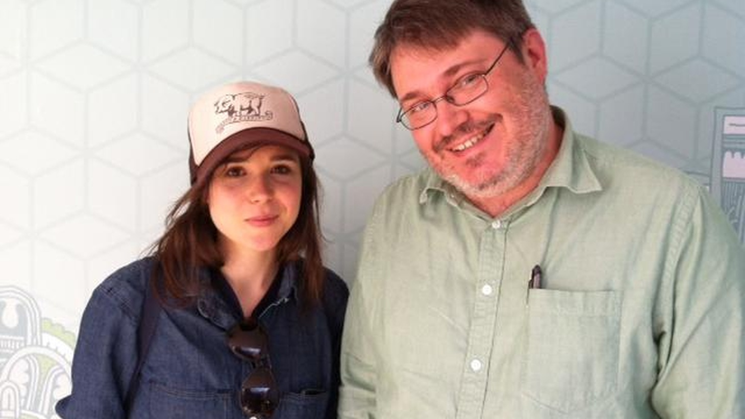 Ellen Page relies heavily on music to get into character for all of her roles, from the piercing sadness and longing of Cat Power and Gillian Welch to the beautiful instrumentals of cellist Adam Hurst.