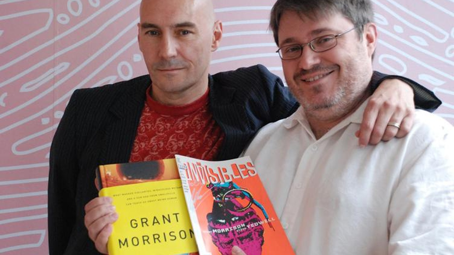 Grant Morrison is a renowned writer who explores the underbelly of pop culture and modern society through the prism of comic books. His music tastes are just as thoughtful, with a track that proves parodies can be as good as the original, some psychedelic hip-hop and a song he considers the theme to his cult favorite comic series The Invisibles.