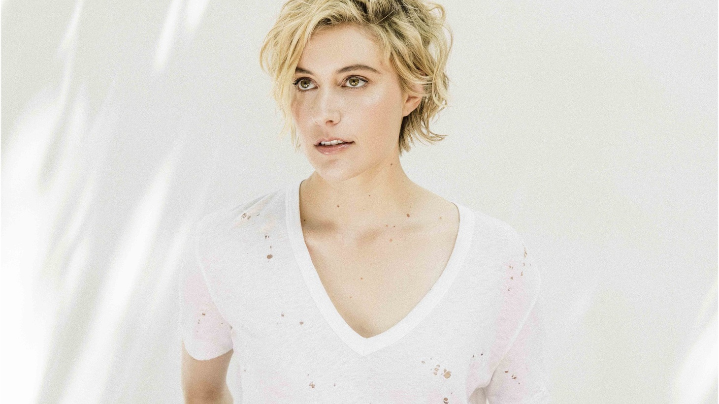 """Actress, screenwriter, and filmmaker Greta Gerwig describes herself as a person who """"lives with very vivid emotions"""" and she gravitates towards musicians who are like that as well, from Kate Bush and Judee Sill to Brian Eno."""