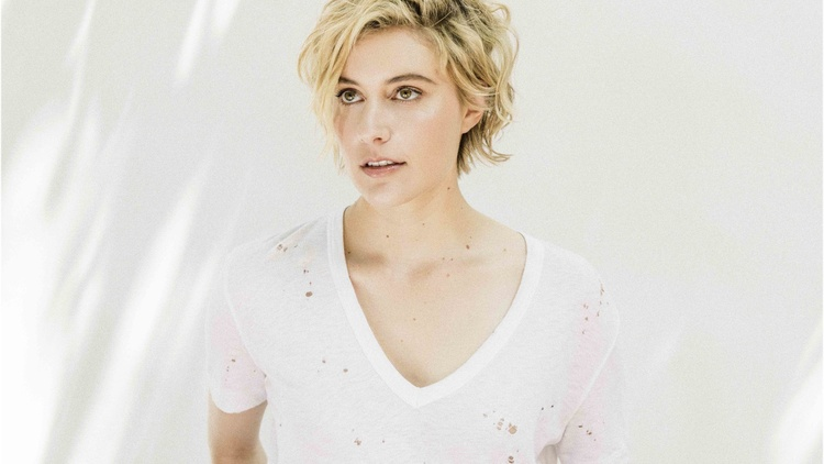 "Actress, screenwriter, and filmmaker Greta Gerwig describes herself as a person who ""lives with very vivid emotions"" and she gravitates towards musicians who are like that as well,…"
