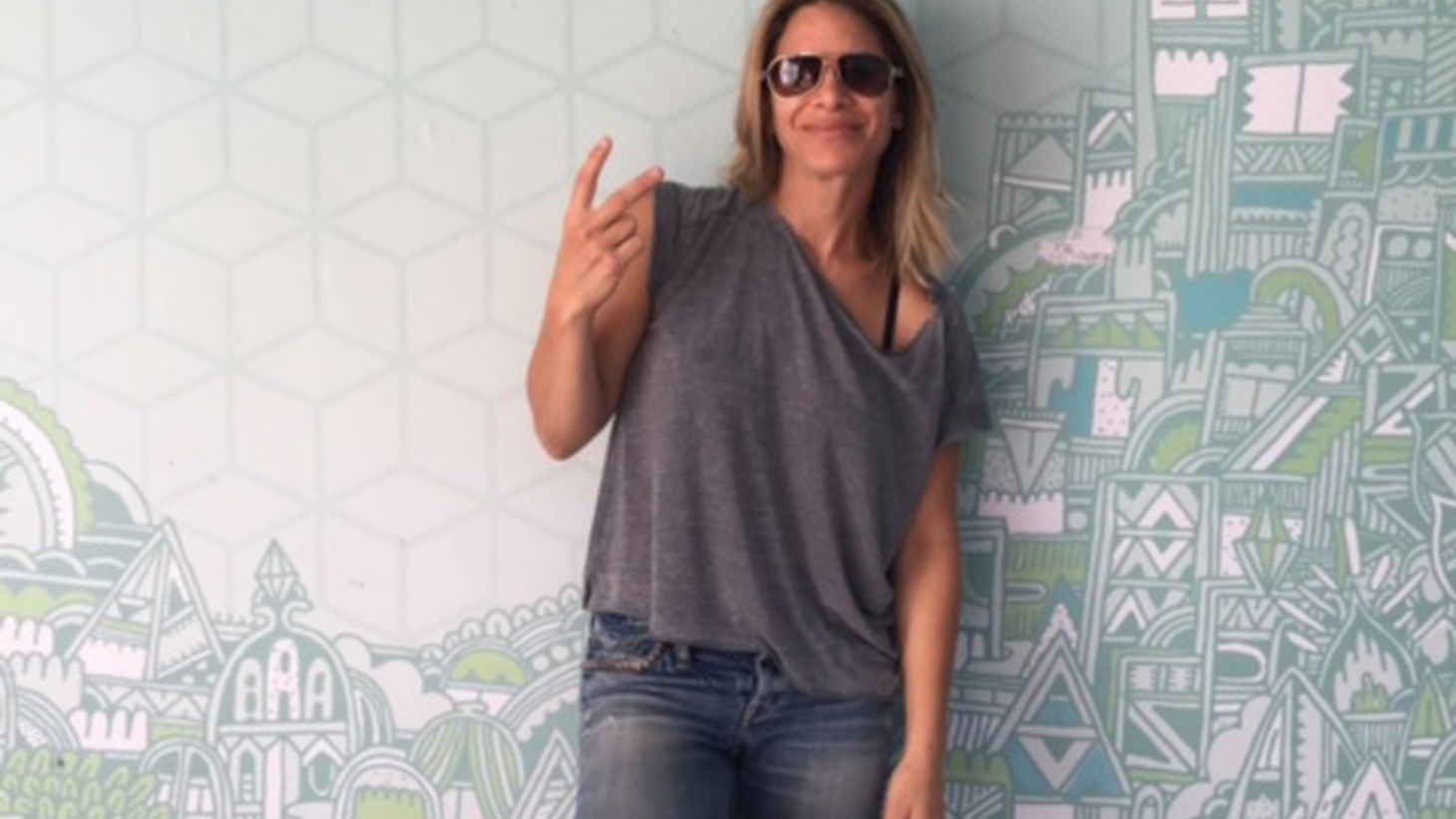 """Jillian Michaels is a fitness guru who appeared on the NBC show The Biggest Loser for a decade. Her Guest DJ set includes a track that brings out her inner fighter, a """"cheesy pop song"""" she uses for work out motivation and a dedication to her haters."""