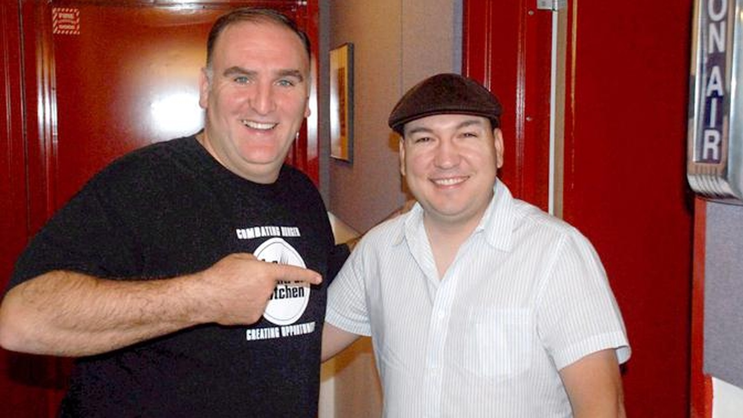 """Spanish Chef José Andrés has an exuberant personality that is on full display as he shares songs he loves and his passion for his homeland. Andrés calls music a """"great companion"""" and named the song that captures his """"internal rhythm"""" as well as two tracks that celebrate different heritages coming together, as he does in his food."""