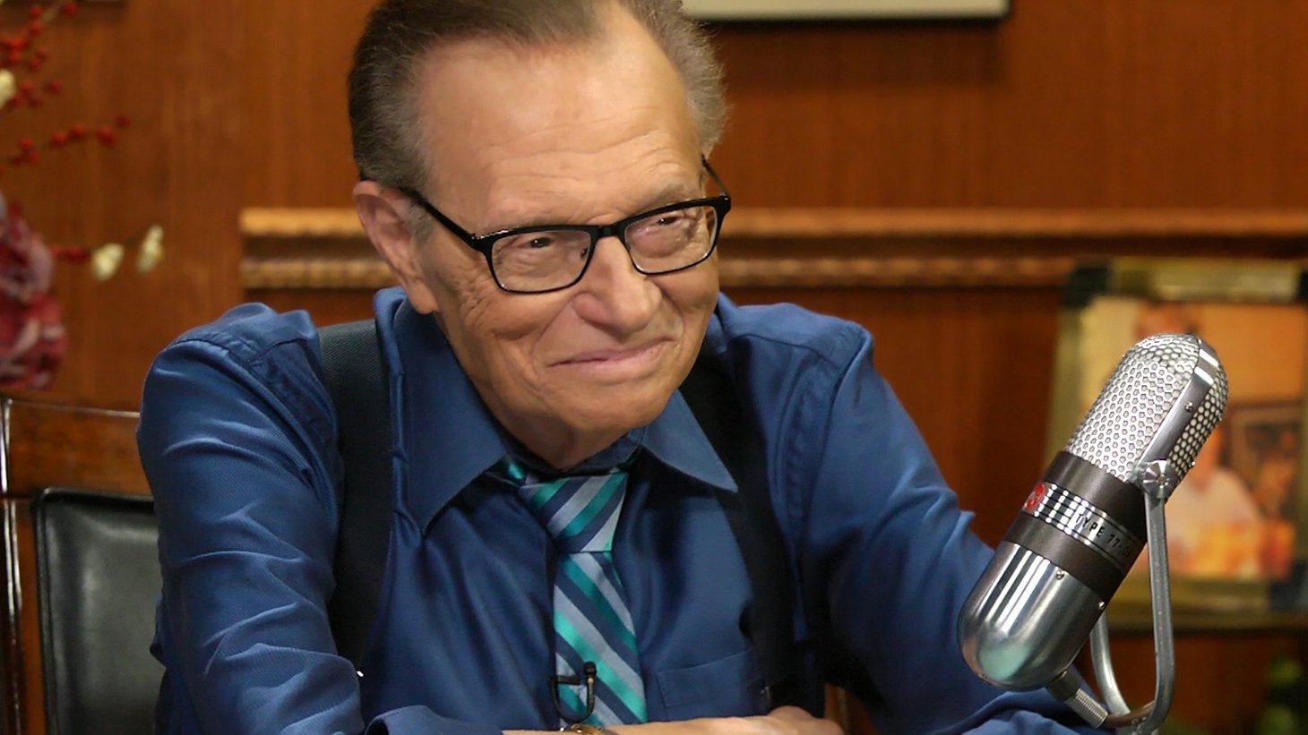 Legendary broadcaster Larry King got his start as a disc jockey in Miami. He has a great affection for music, particularly American classics like Frank Sinatra, and tells us tales about wooing women and launching his career.