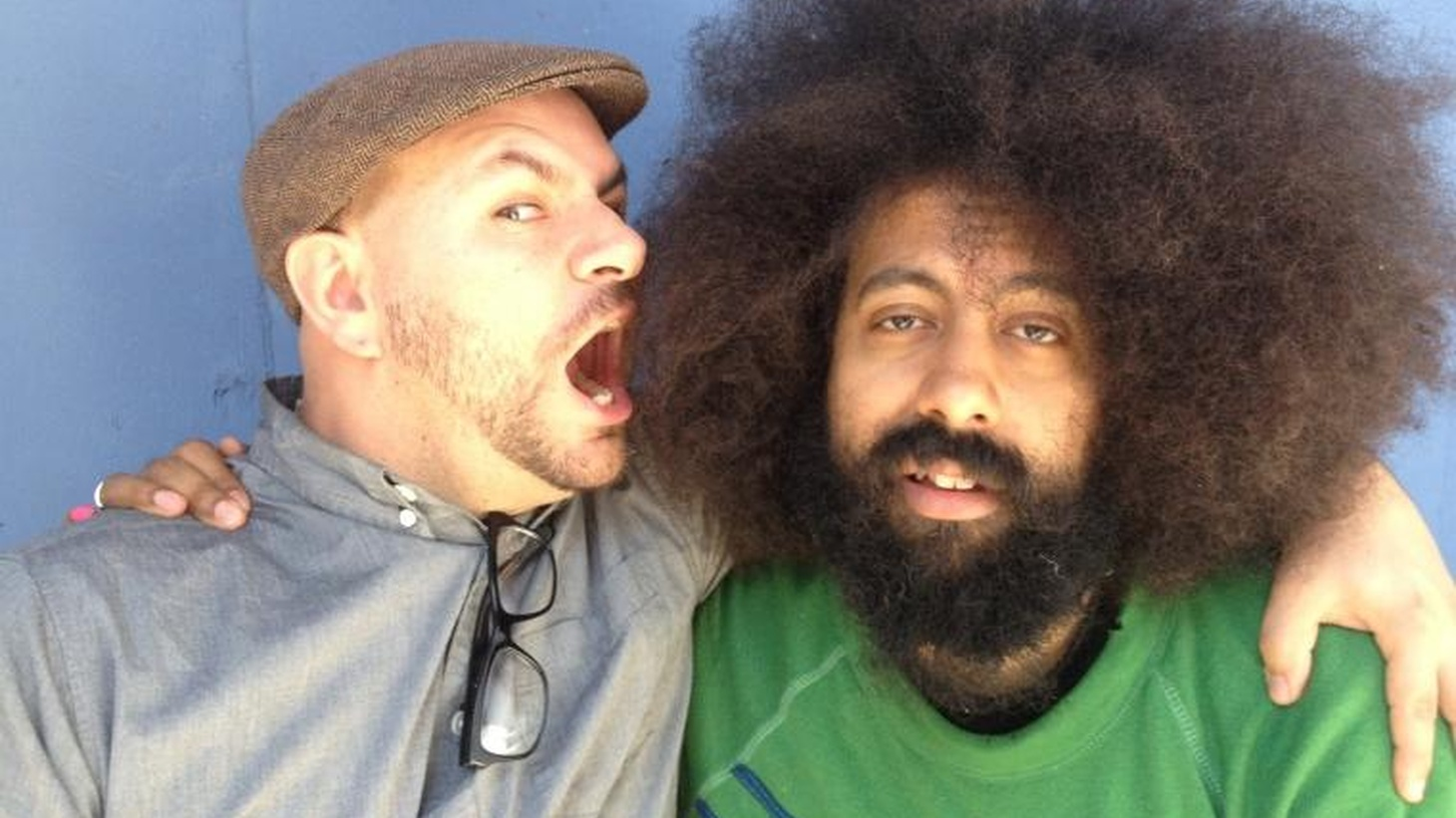 """Reggie Watts is a beatboxer, bandleader and standup comedian but - more than anything - a true original.  He tells us how the Cocteau twins changed the way he perceived music, introduces us to the """"funkiest, deepest, groove, imaginable"""" and picks the perfect pop song."""