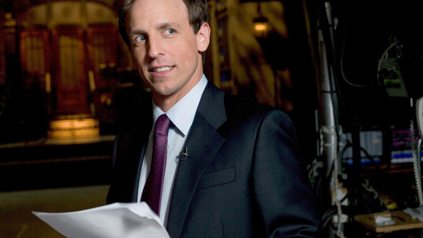 """Seth Meyers is the head writer for """"Saturday Night Live"""" and anchor of """"Weekend Update"""" and claims you will know everything about him through his five song picks, ranging from the funky soul of Al Green to the comedy of country singer John Prine and his favorite band, Wilco."""