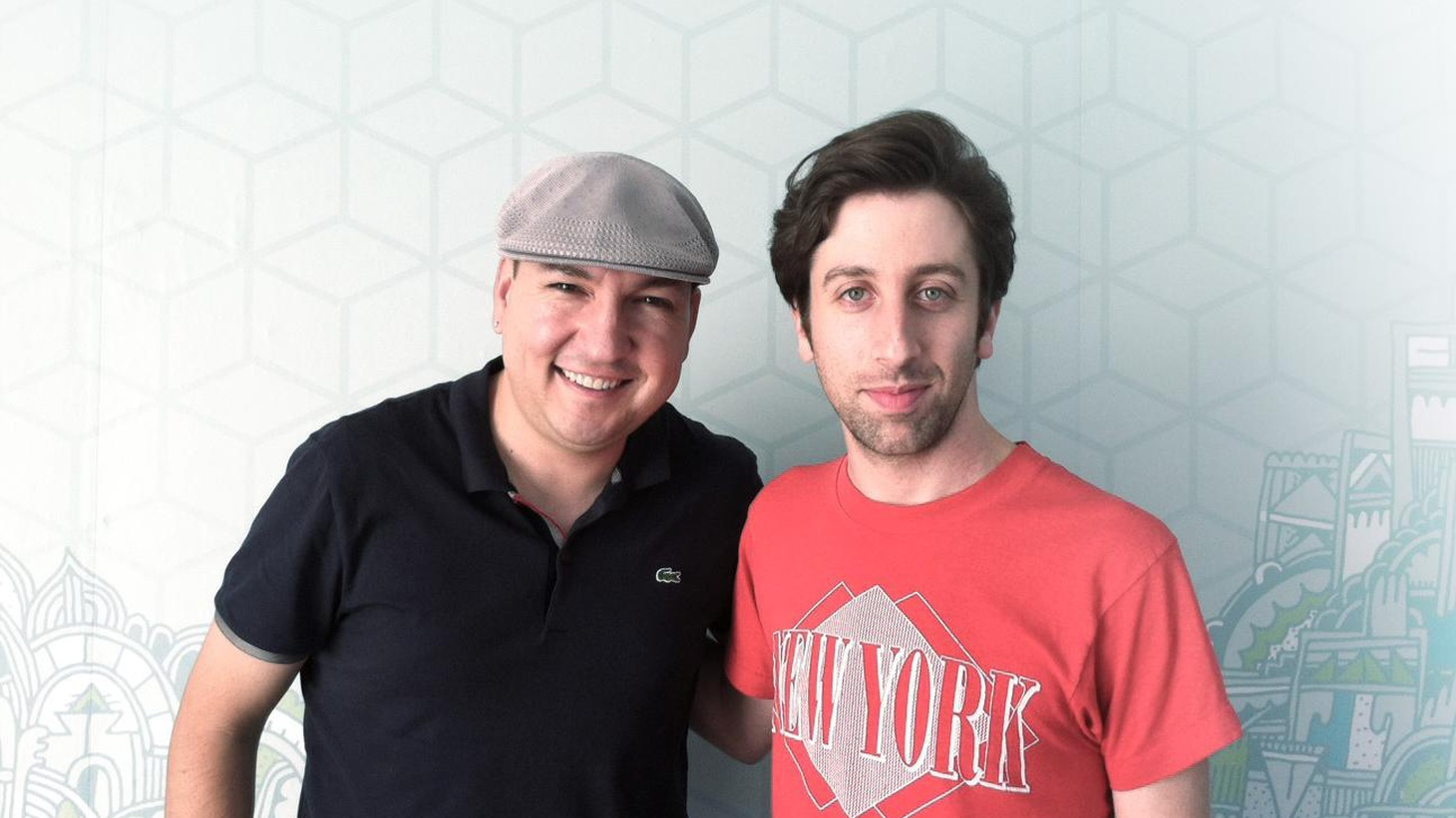 Big Bang Theory star and LA native Simon Helberg picked a theme for his Guest set – songs for driving and crying.